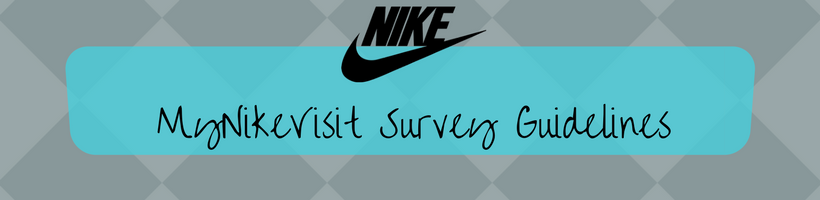 MyNikeVisit Na Survey