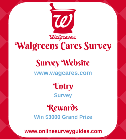 Walgreens Cares Survey
