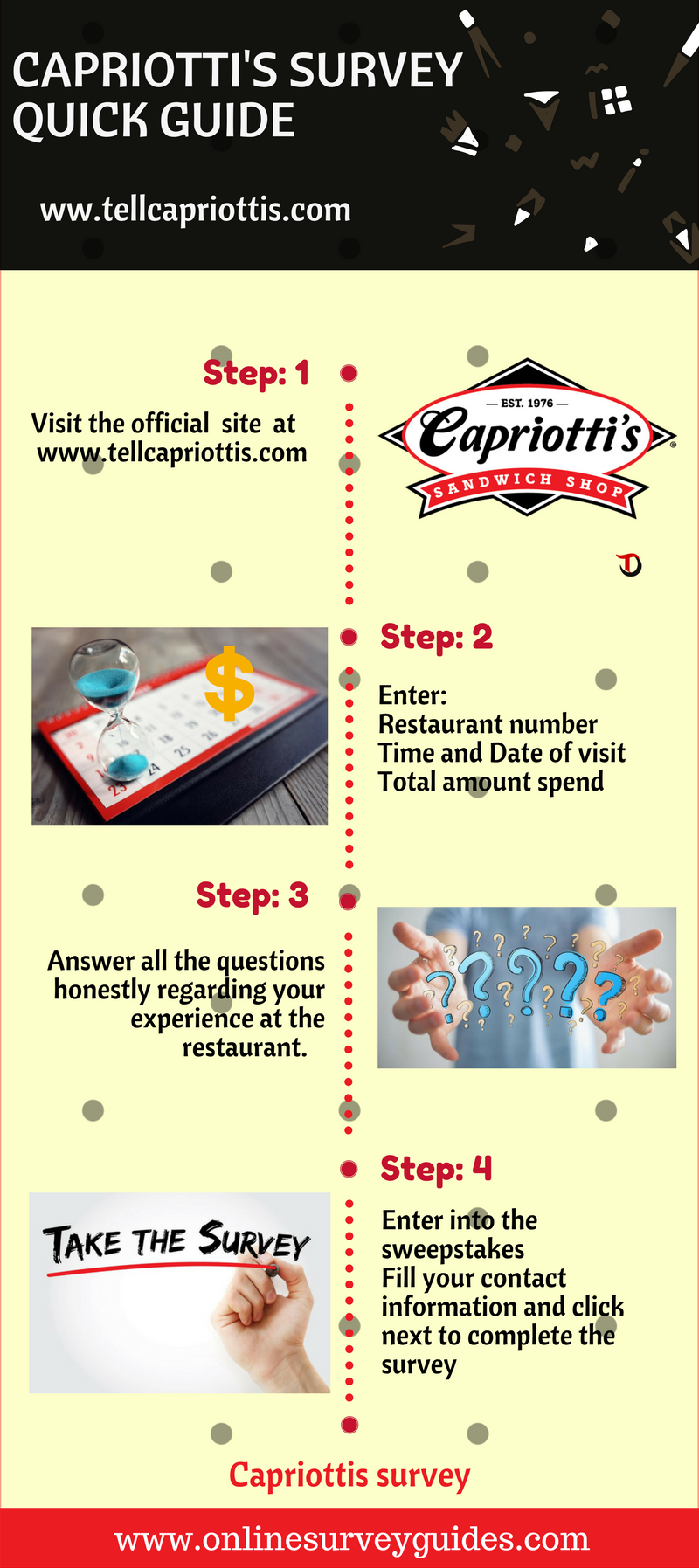 Capriotti's Guest Satisfaction Survey
