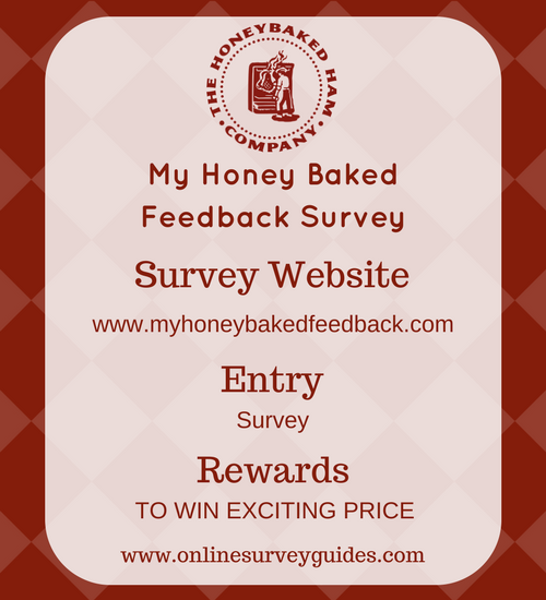 Myhoneybaked Feedback Survey