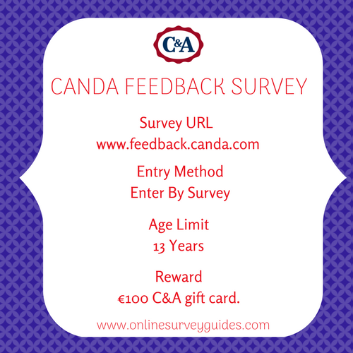 C&A Shopping Survey