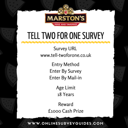 Two for One Customer Feedback Survey